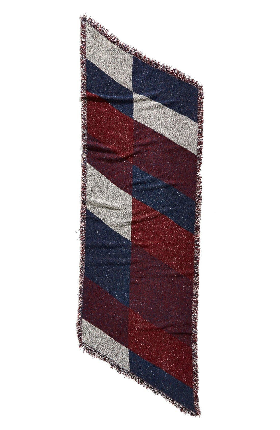Alternate Image 3  - BP. Marled Colorblock Oblong Scarf