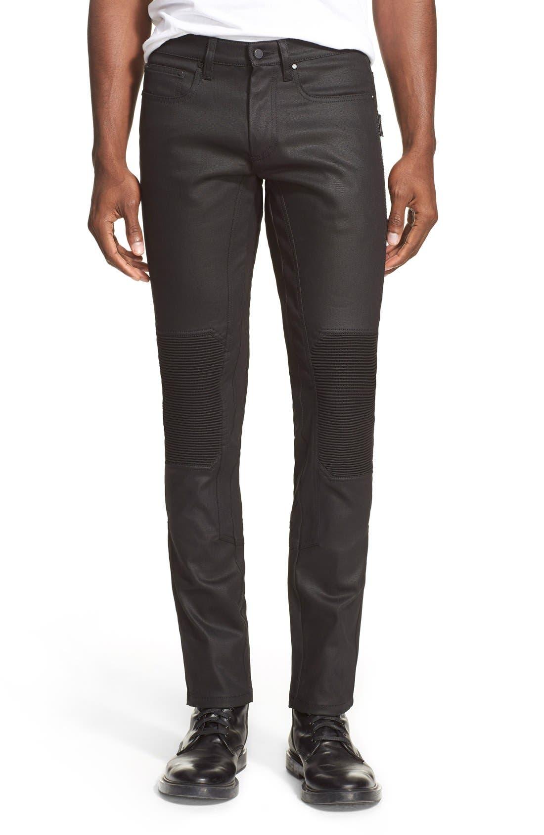 Alternate Image 1 Selected - Belstaff 'Blackrod' Raw Stretch Denim Moto Jeans