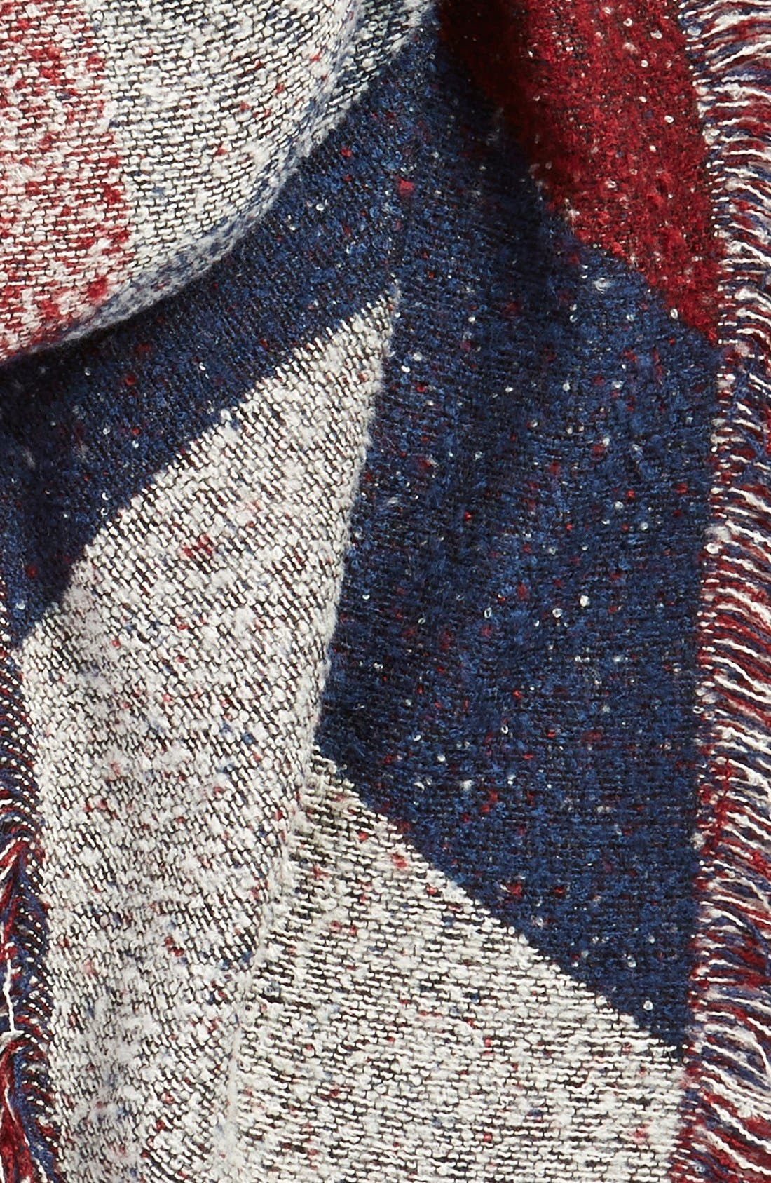 Alternate Image 4  - BP. Marled Colorblock Oblong Scarf