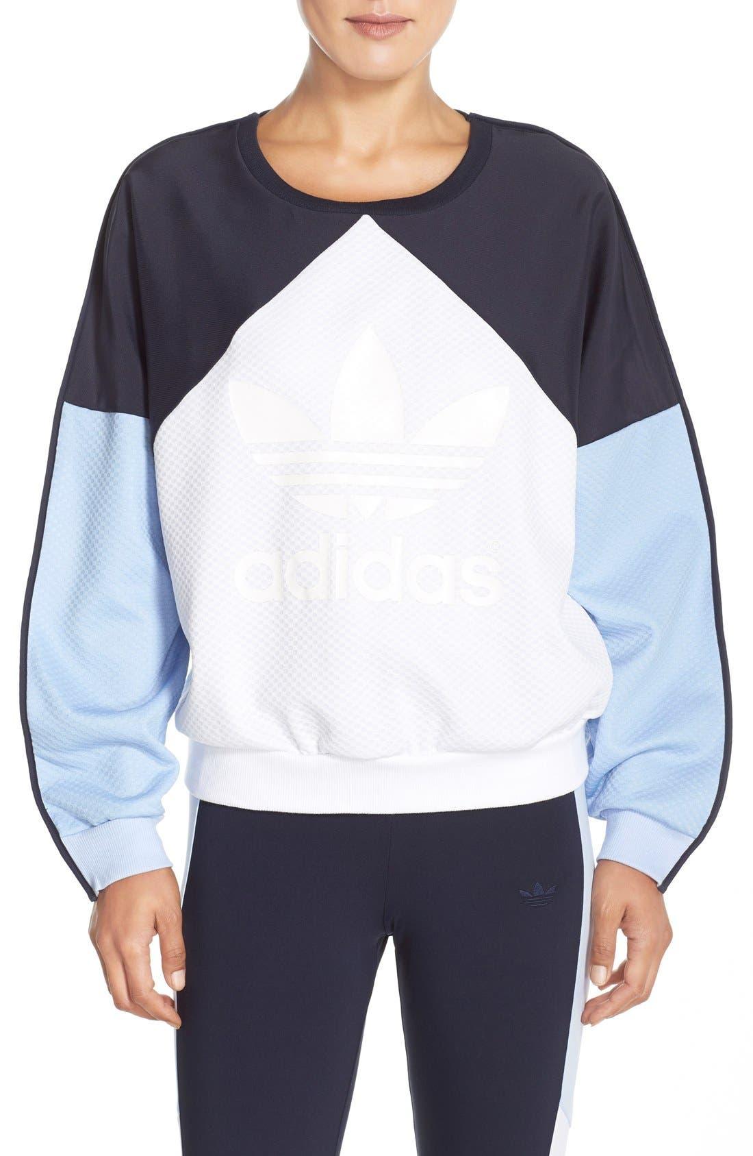 Alternate Image 1 Selected - adidas Originals 'Helsinki' Crewneck Sweatshirt