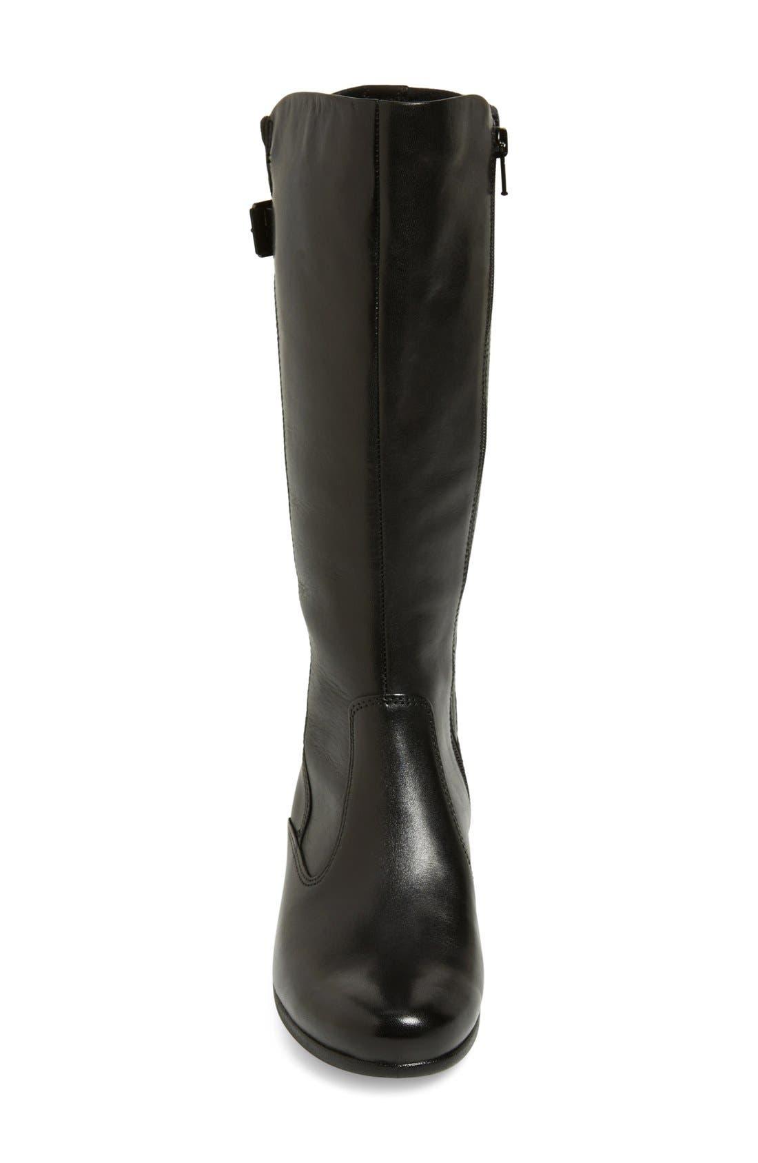 Alternate Image 3  - ECCO 'Abelone Tall' Stretch Back Wedge Boot (Women)
