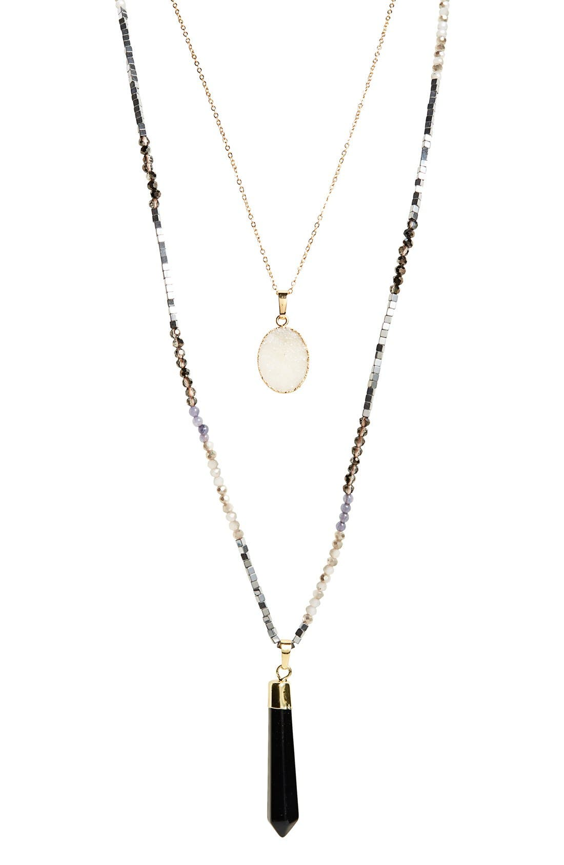 Alternate Image 2  - Panacea Layered Pendant Necklace