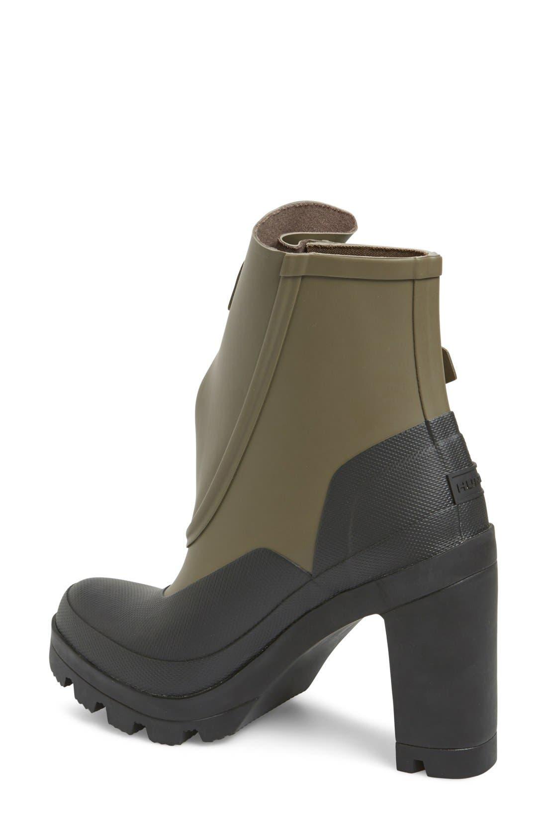 Alternate Image 2  - Hunter 'Original Galosh' Waterproof Ankle Bootie (Women)