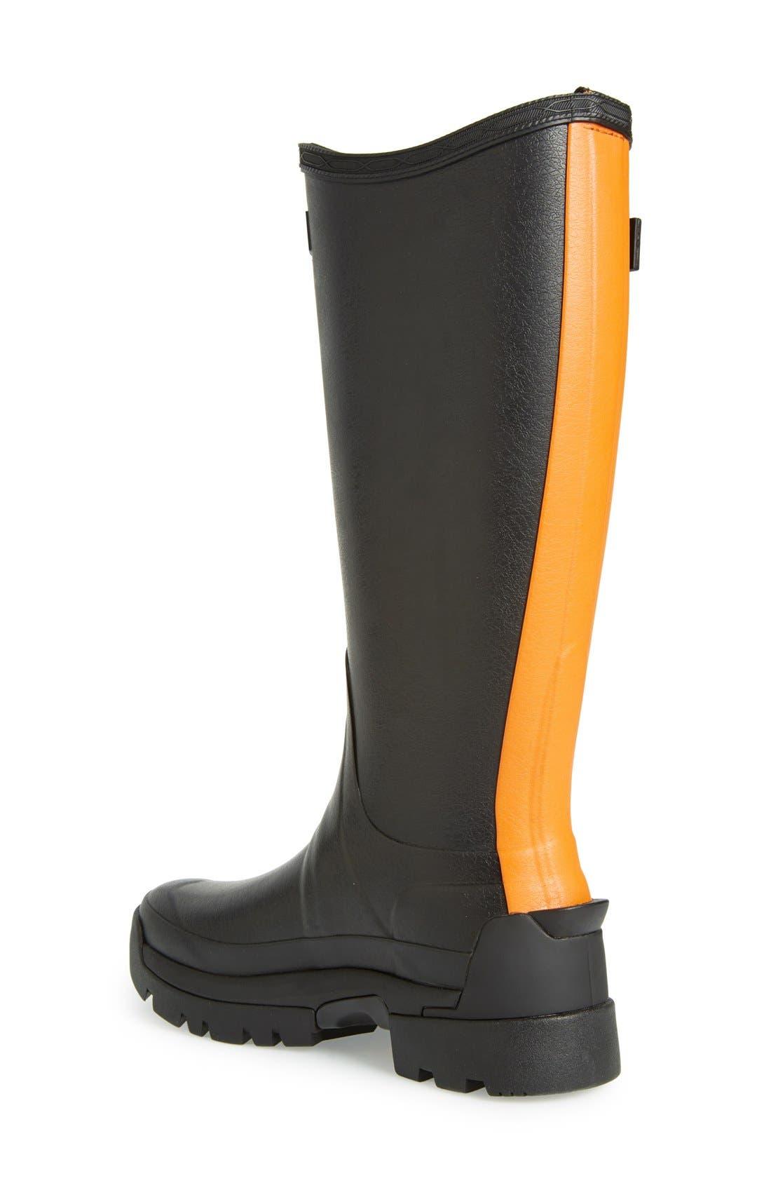 Alternate Image 2  - Hunter 'Balmoral II' Rain Boot (Women)