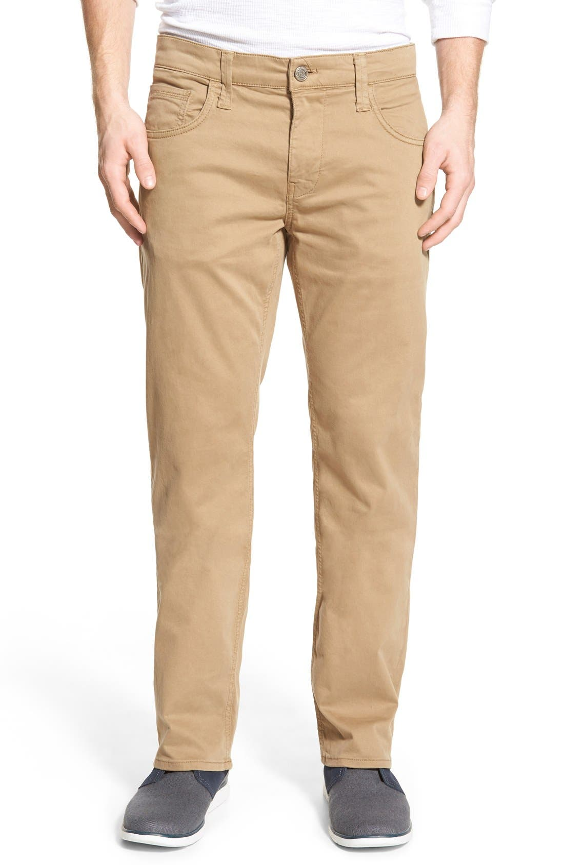 Mavi Jeans 'Zach' Straight Leg Twill Pants