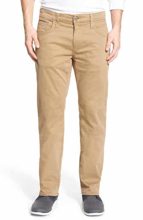 Mavi Jeans 'Zach' Straight Leg Twill Pants