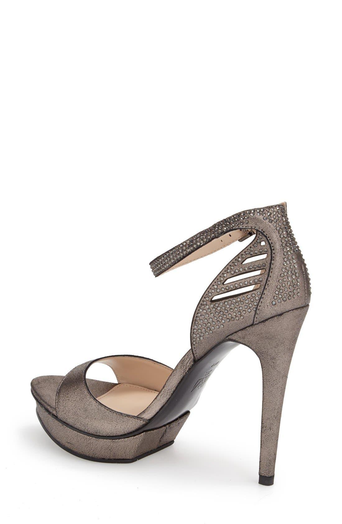 Alternate Image 2  - Pelle Moda 'Fenton' Ankle Strap Sandal (Women)