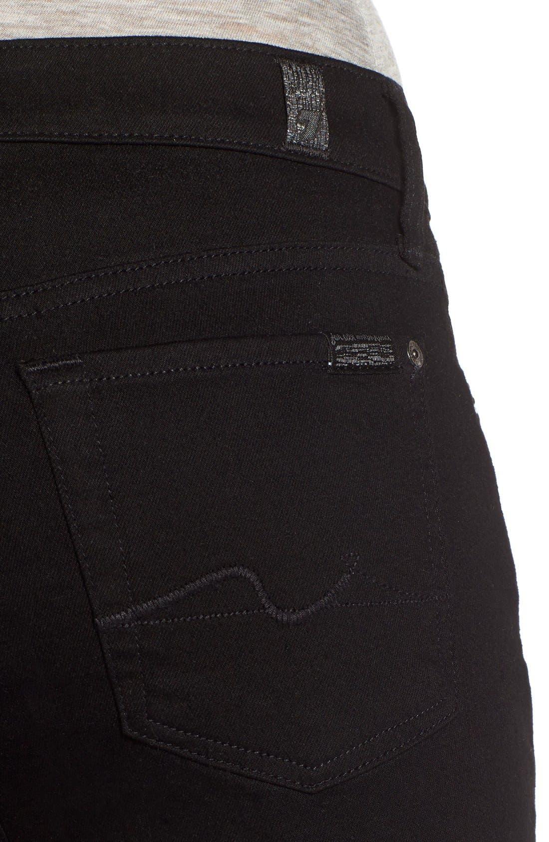 Alternate Image 4  - 7 For All Mankind® Skinny Jeans