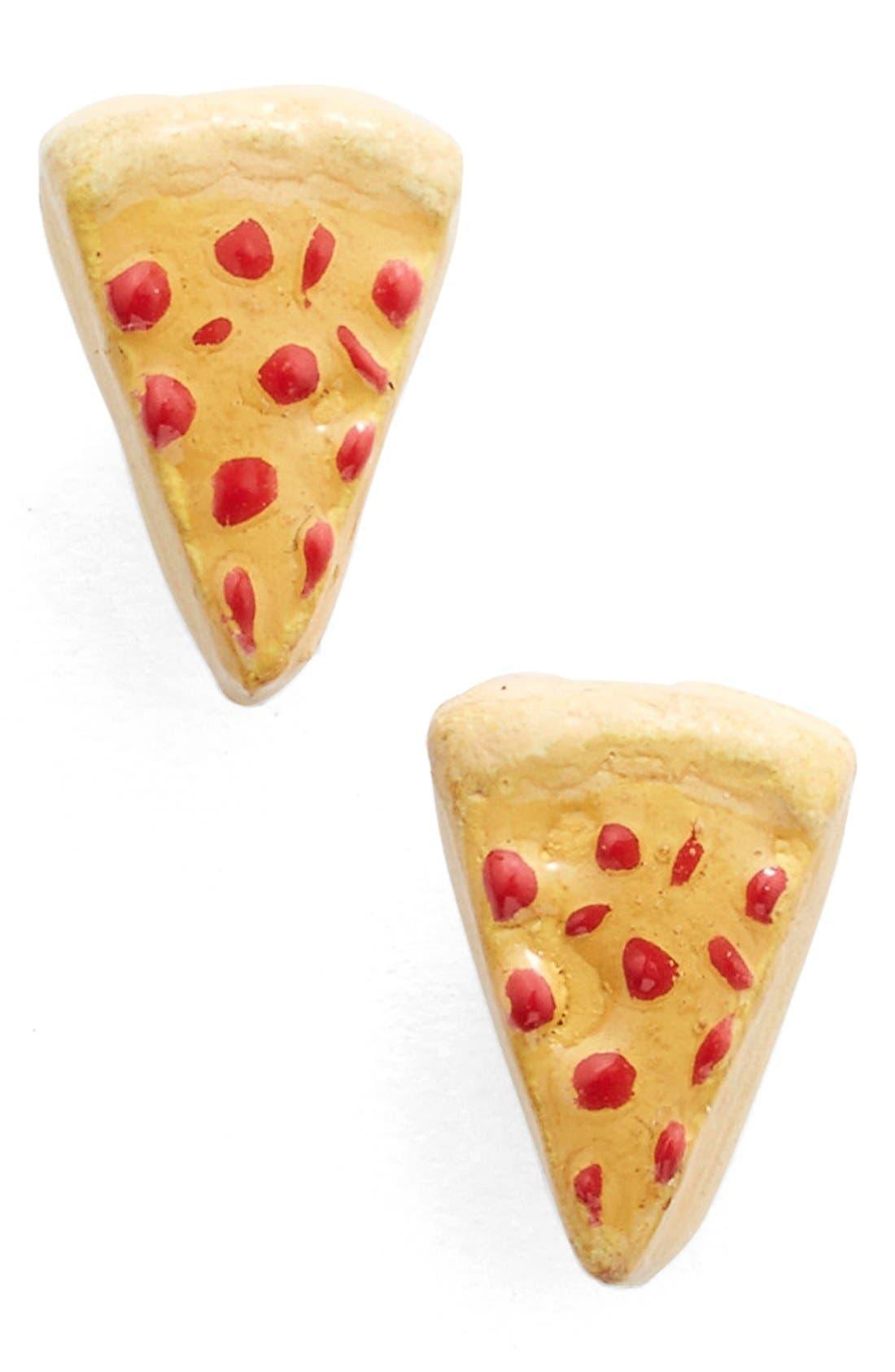 Main Image - Venessa Arizaga Pizza Slice Stud Earrings