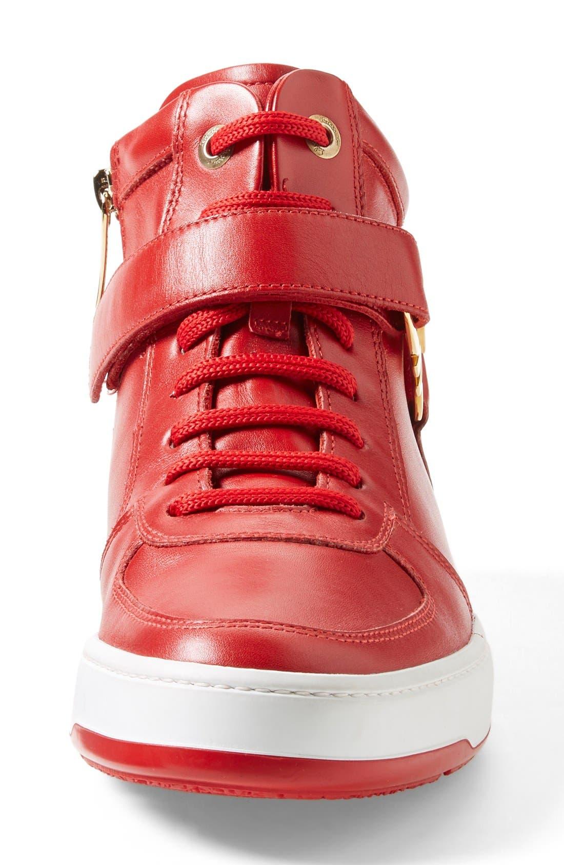 Alternate Image 4  - Salvatore Ferragamo 'Nayon' High Top Sneaker (Men)