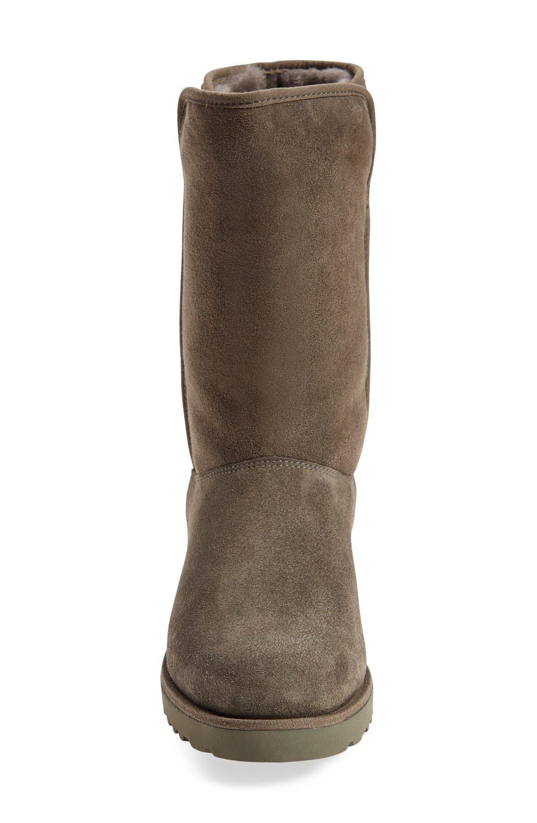 Alternate Image 3  - UGG® Amie - Classic Slim™ Water Resistant Short Boot (Women)