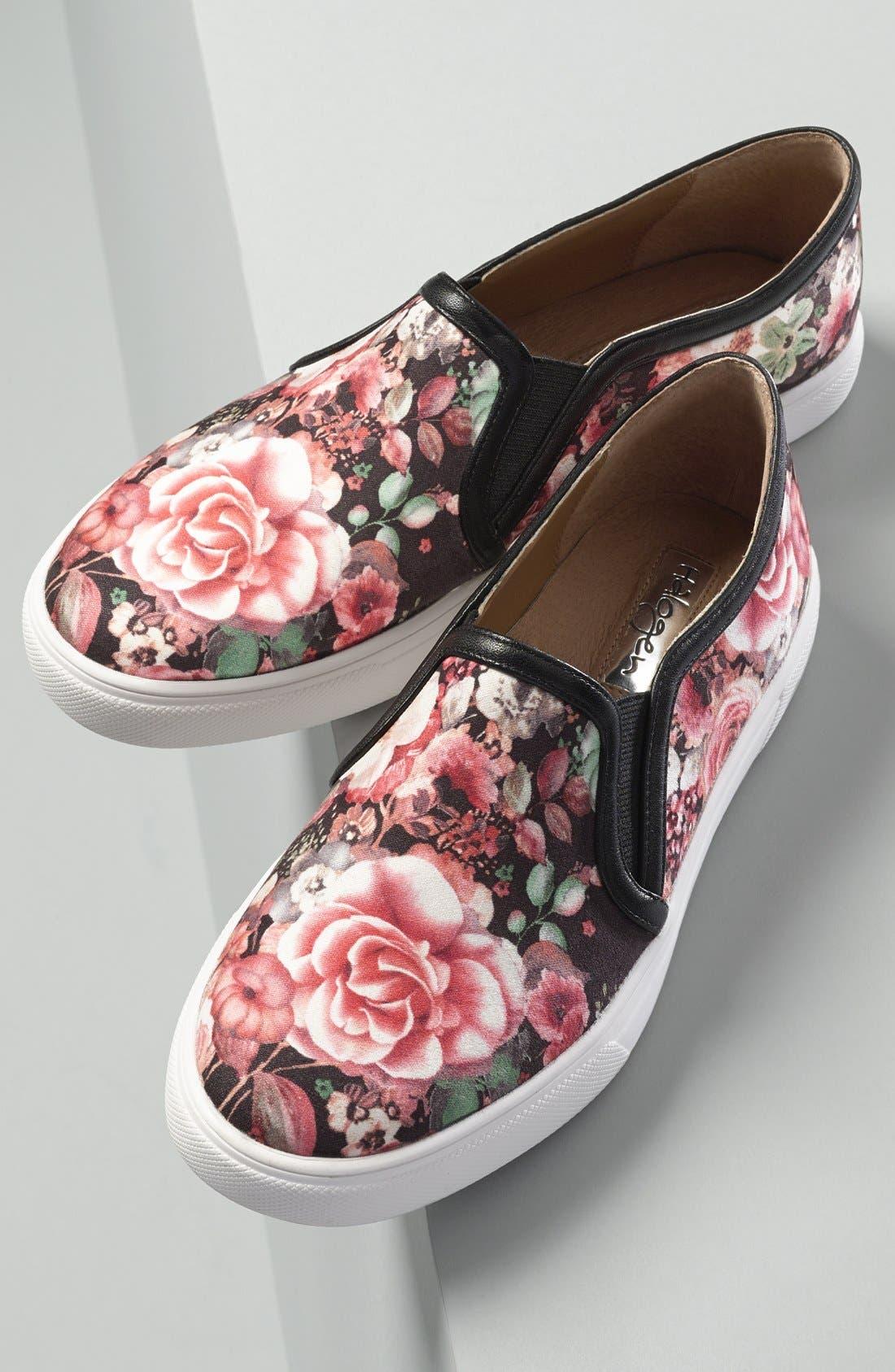 Alternate Image 6  - Halogen® 'Turner' Slip-On Sneaker (Women)