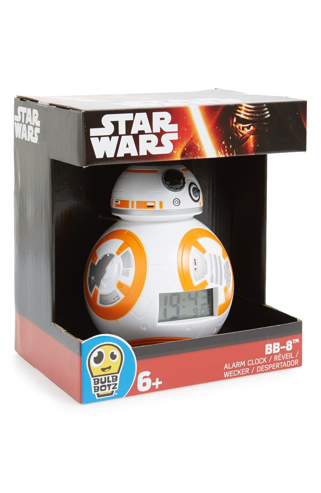 BULB BOTZ 'Star Wars™ - BB-8' Light-Up Alarm