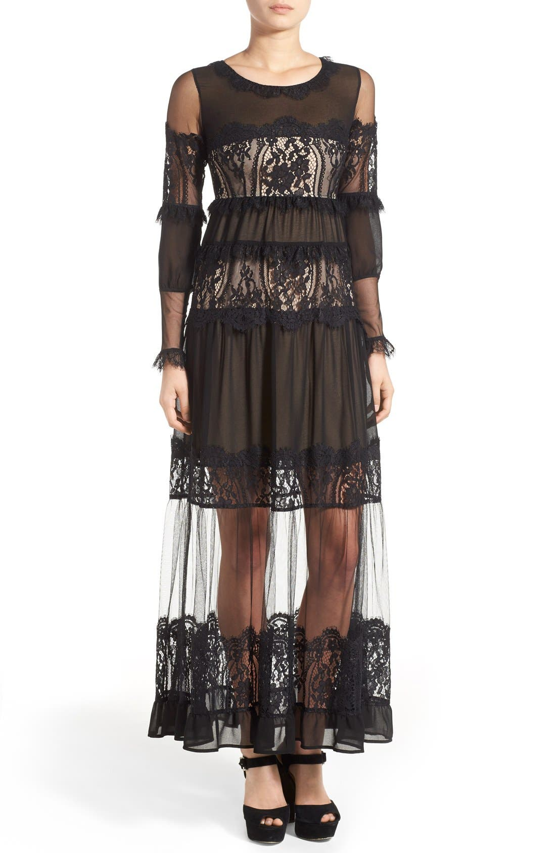 Main Image - For Love & Lemons 'Alexa' Maxi Dress