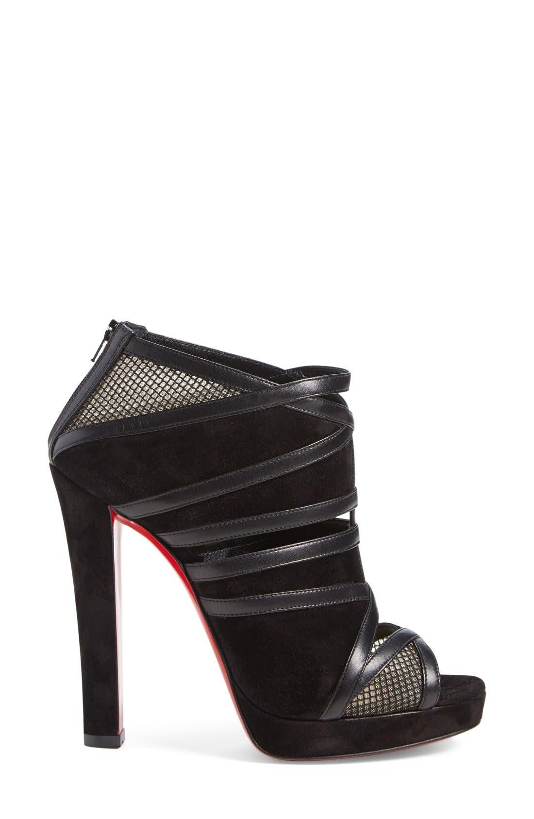 Alternate Image 4  - Christian Louboutin 'Cammandanta' Open Toe Platform Sandal