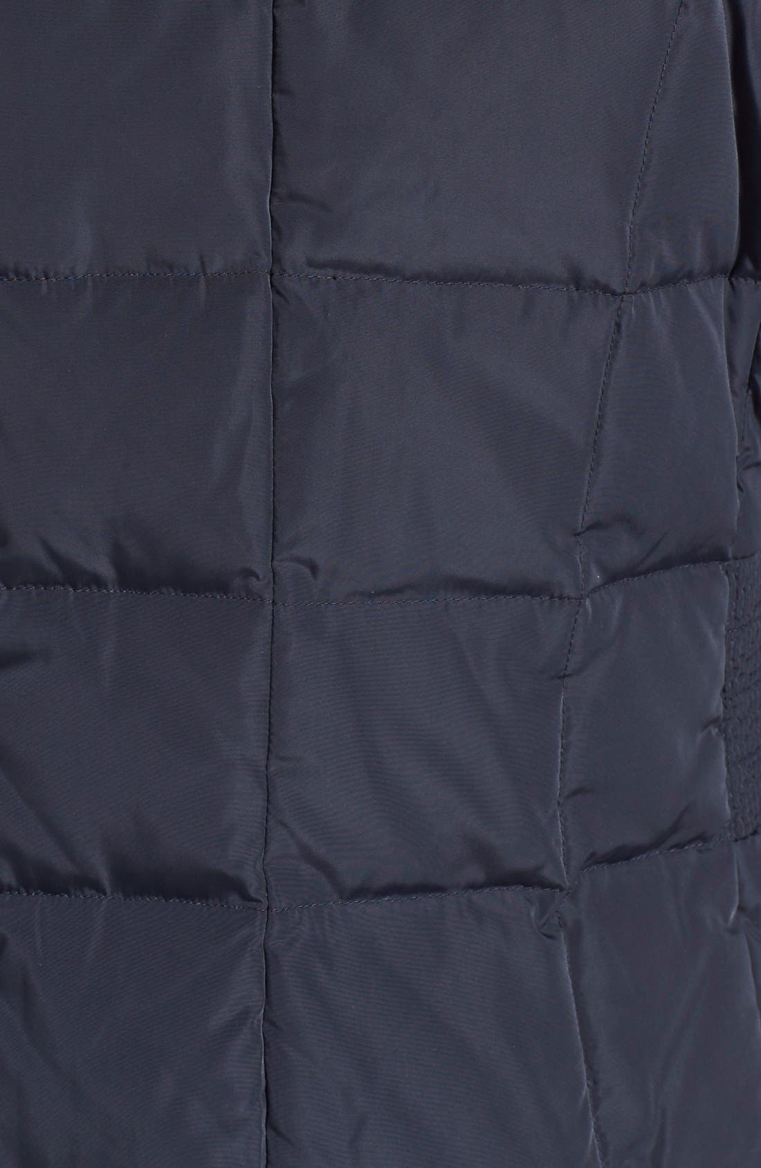 Alternate Image 5  - Cole Haan Bib Insert Down & Feather Fill Coat (Regular & Petite)