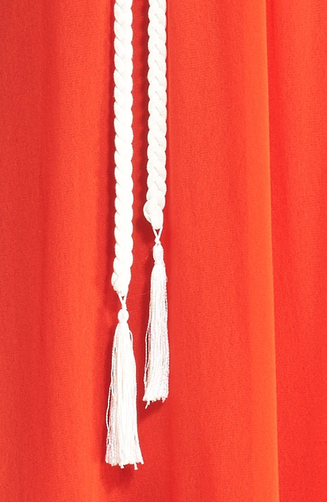 Alternate Image 2  - Fuzzi Tassel Rope Belt