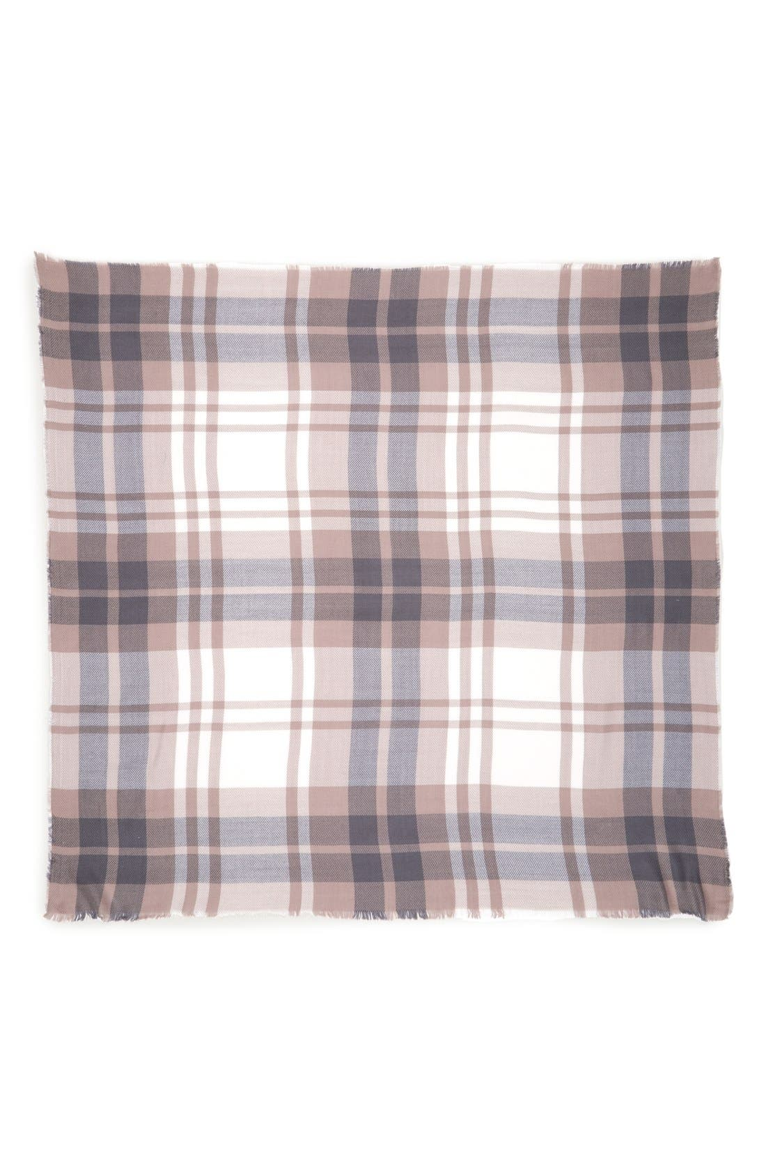 Alternate Image 2  - BP. Tonal Plaid Scarf