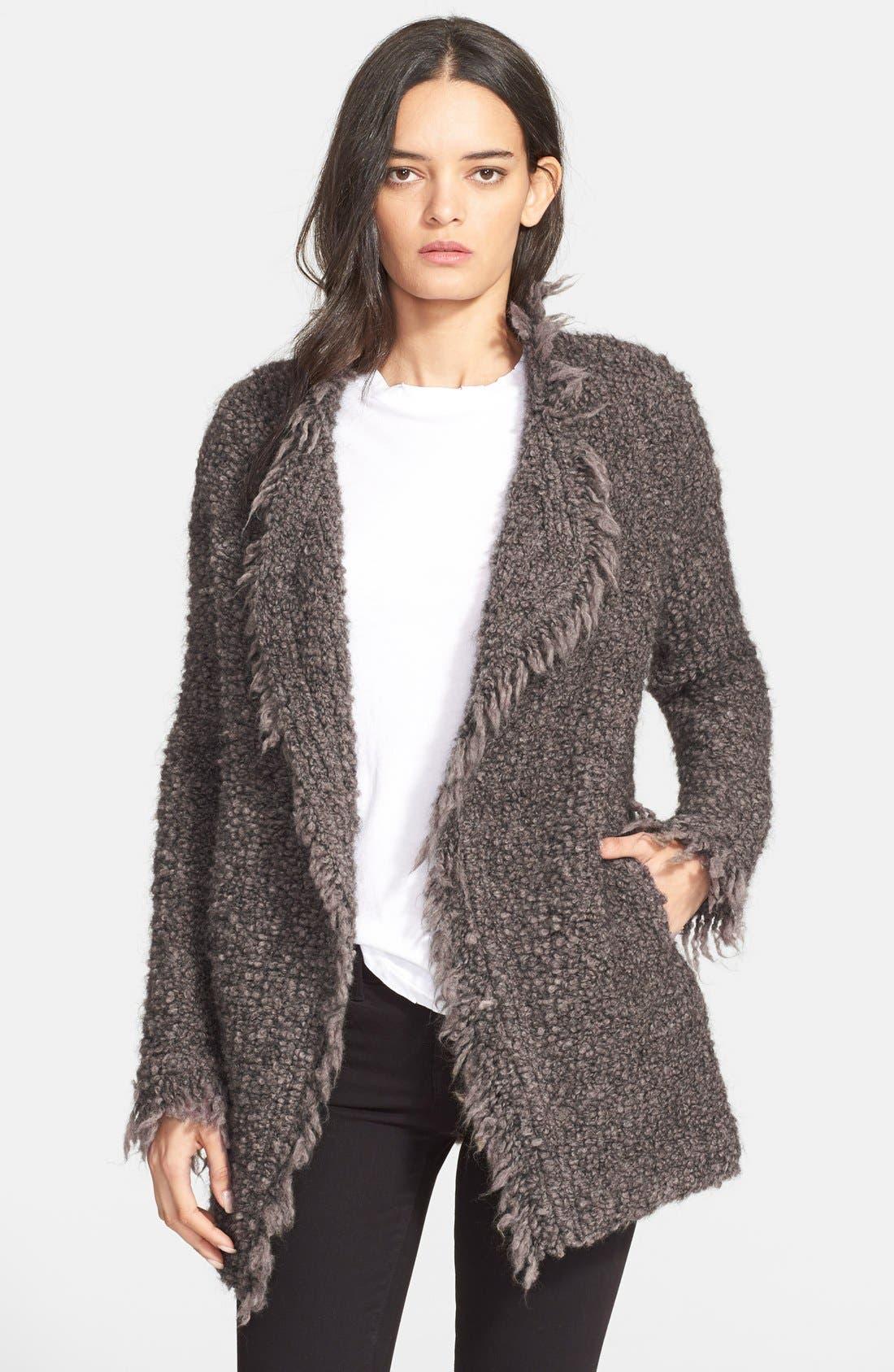 Alternate Image 1 Selected - IRO 'Campbell' Oversize Cardigan Jacket