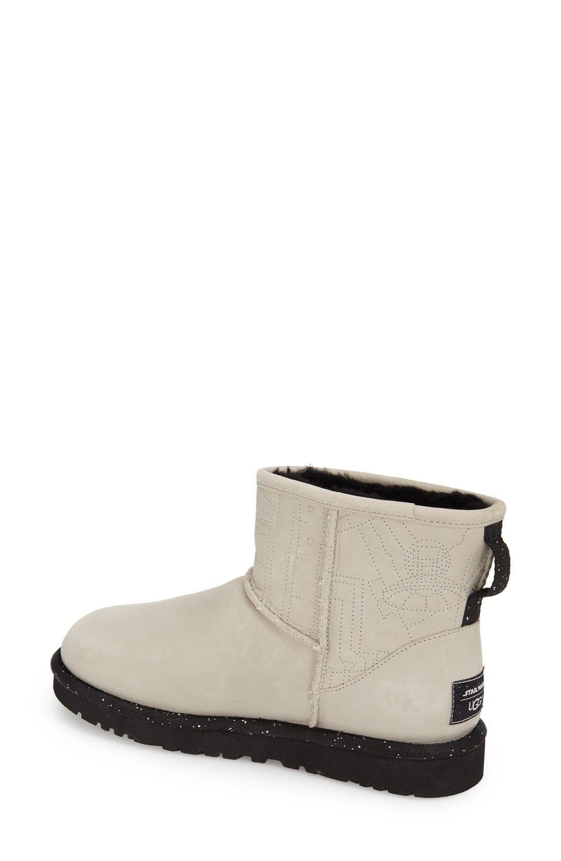 Alternate Image 2  - UGG® 'Star Wars Millennium Falcon - Classic Mini' Water Resistant Short Boot (Women)