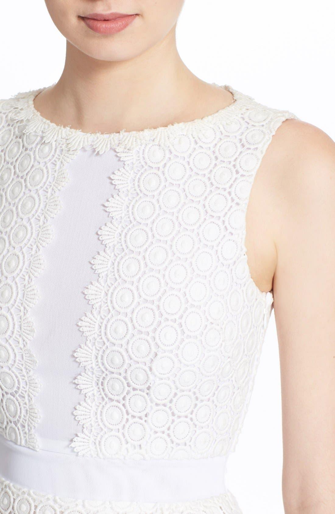 Alternate Image 4  - Diane von Furstenberg 'Tavita' Sleeveless Lace Top