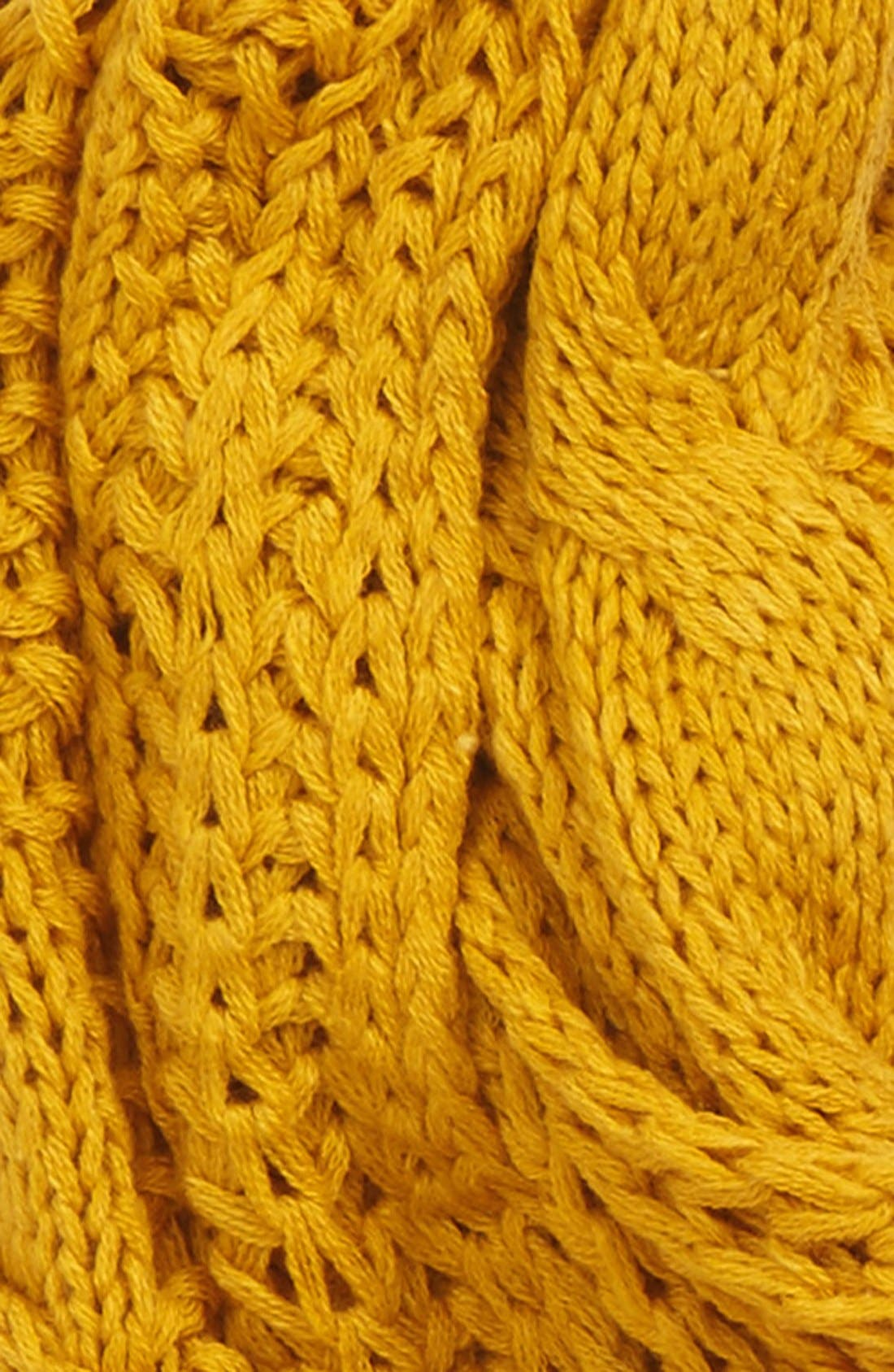 Alternate Image 3  - BP. 'Heritage' Cable Knit Infinity Scarf