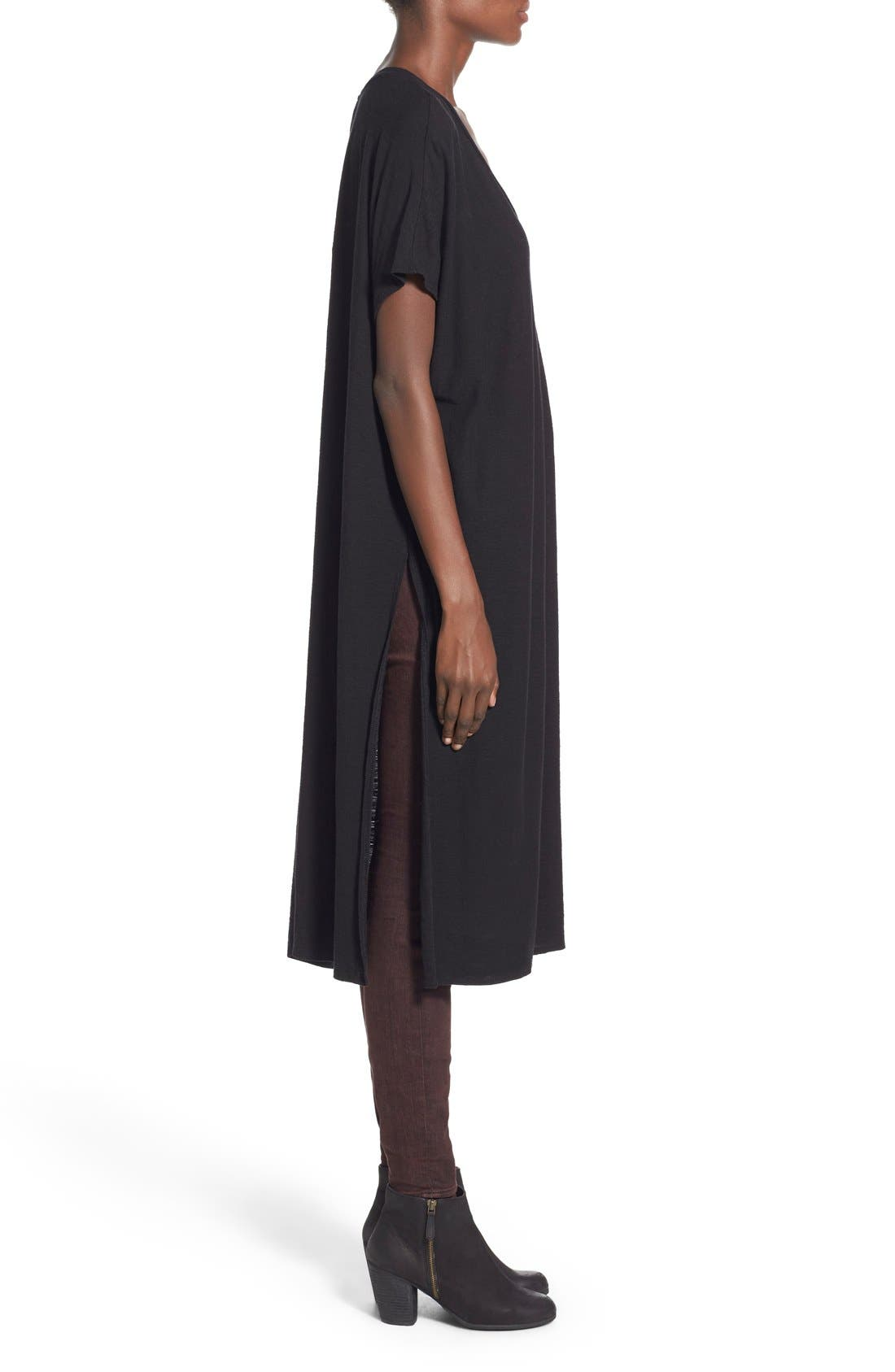 Alternate Image 3  - Michelle by Comune 'Hayward' V-Neck T-Shirt Dress