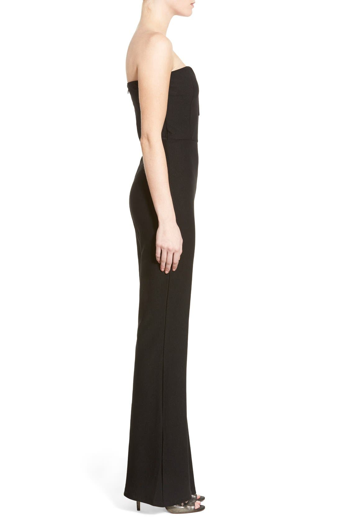 Alternate Image 3  - Missguided Sweetheart Plunge Jumpsuit