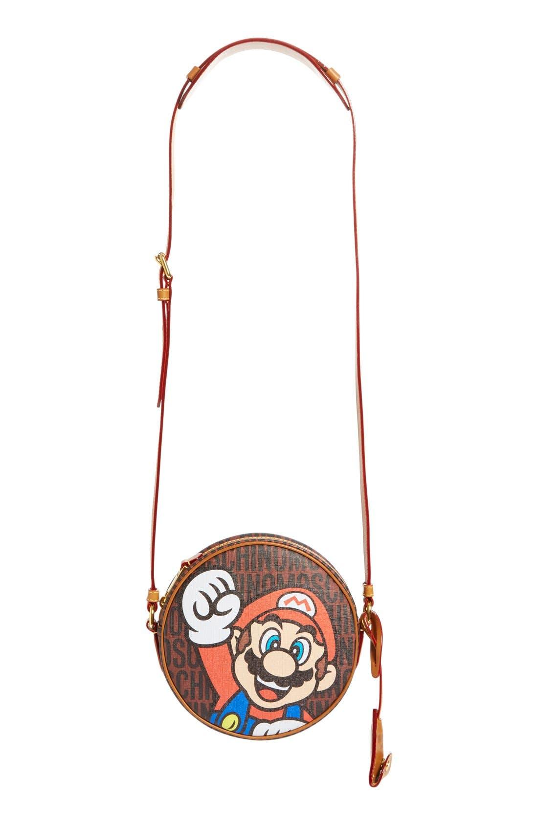 Alternate Image 2  - Moschino 'Nintendo Super Mario Bros.®' Canteen Crossbody Bag