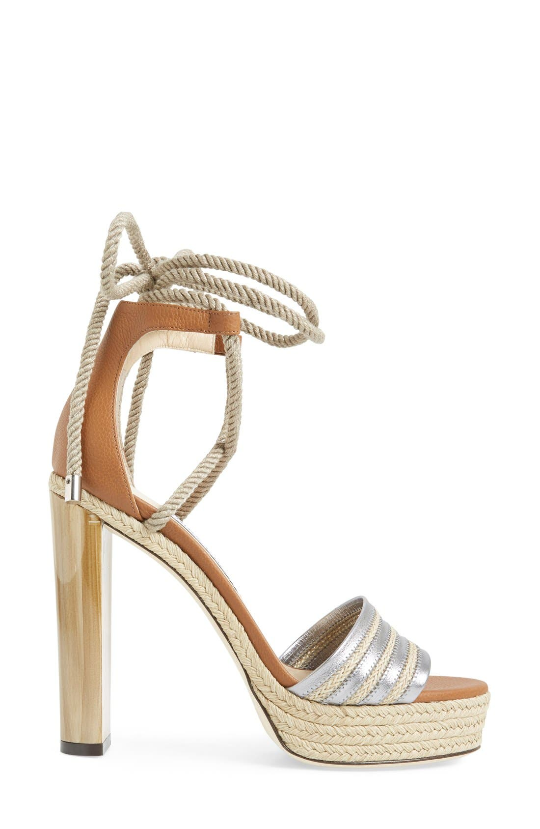 Alternate Image 4  - Jimmy Choo 'Mayje' Platform Sandal (Women)