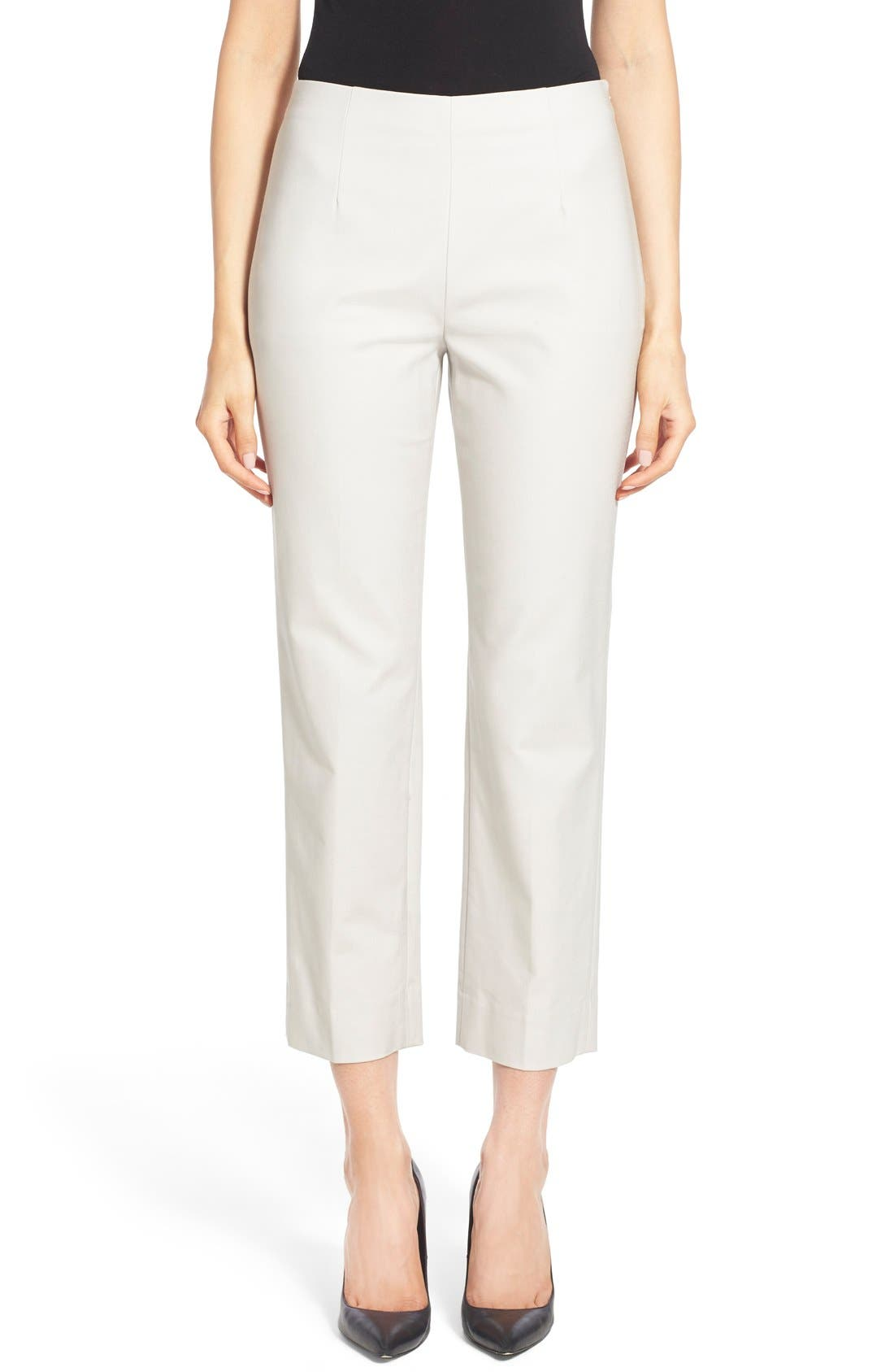 NIC+ZOE 'Perfect' Side Zip Ankle Pants