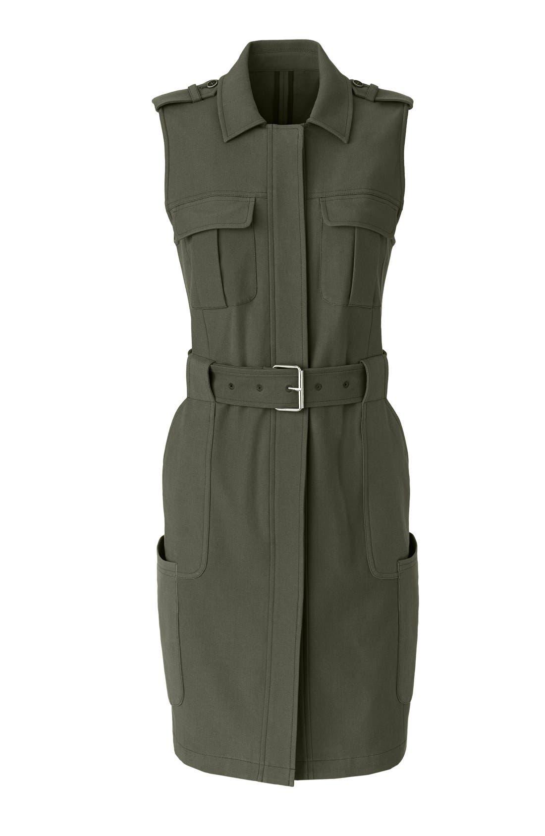 Alternate Image 7  - Olivia Palermo + Chelsea28 Long Military Vest