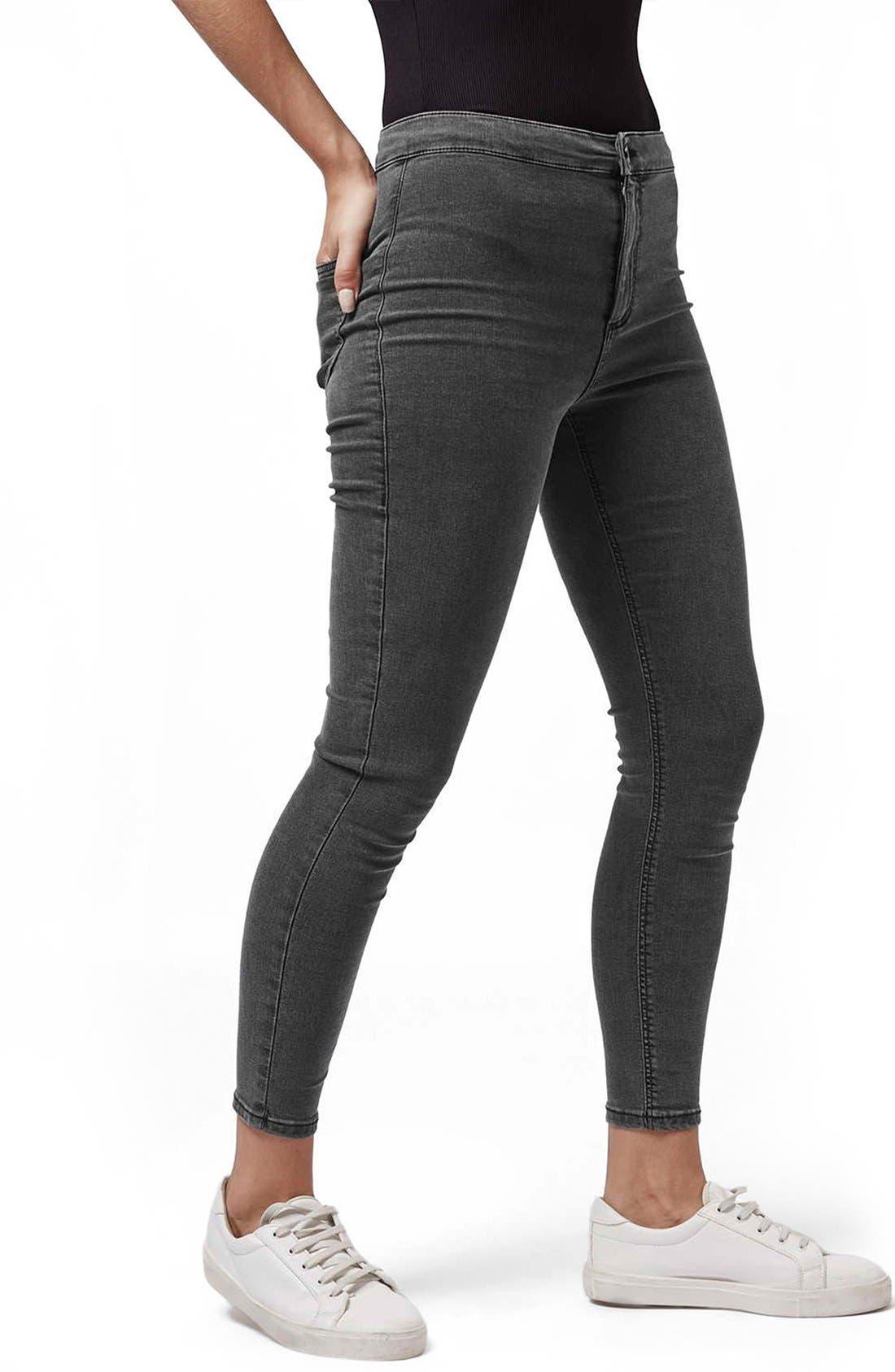 Topshop 'Joni' High Rise Skinny Jeans (Petite)