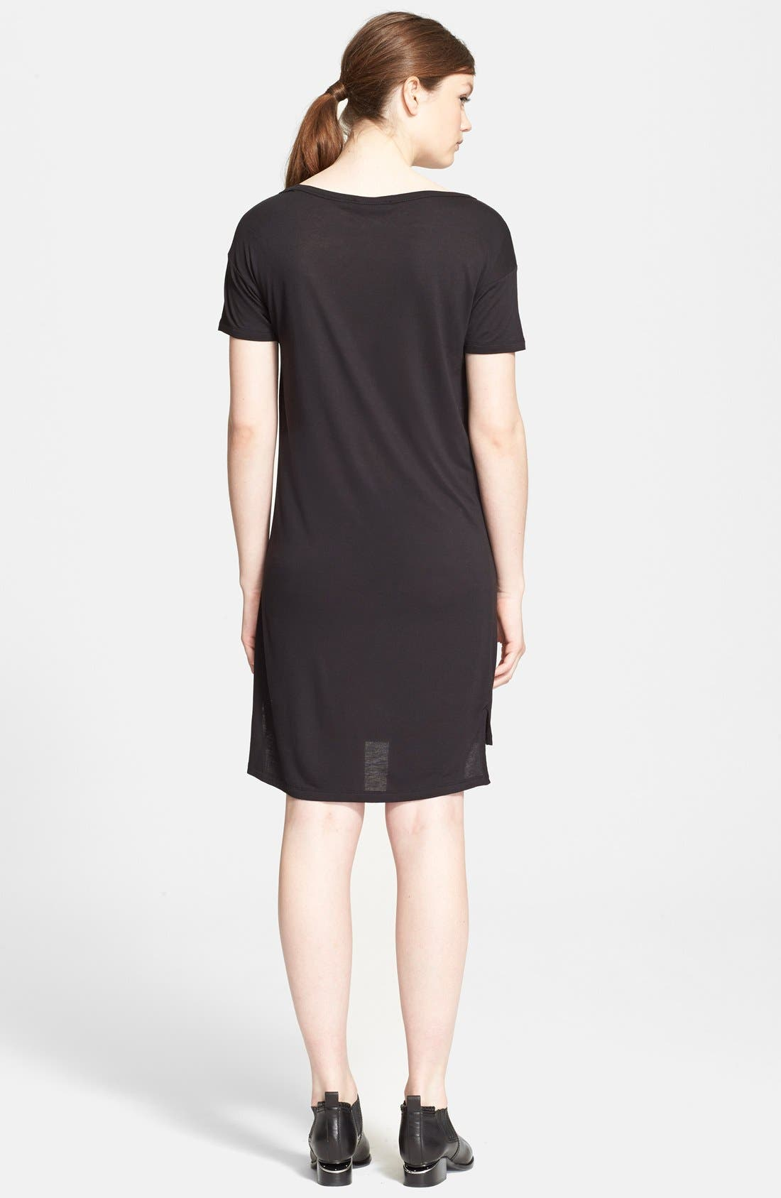 Alternate Image 2  - T by Alexander Wang Jersey Dress