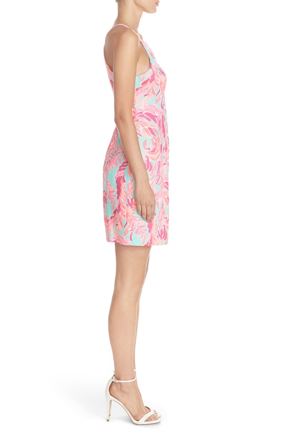 Alternate Image 3  - Lilly Pulitzer® 'Pearl' Cotton Dobby Sheath Dress