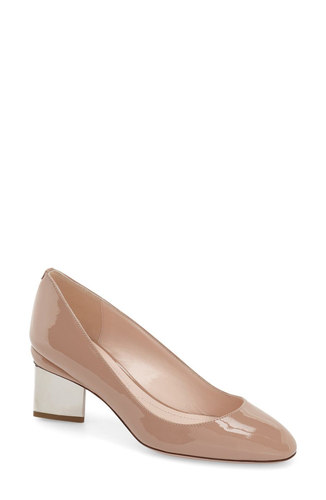 Alternate Image 1 Selected - Nicholas Kirkwood 'Briona' Round Toe Pump (Women)