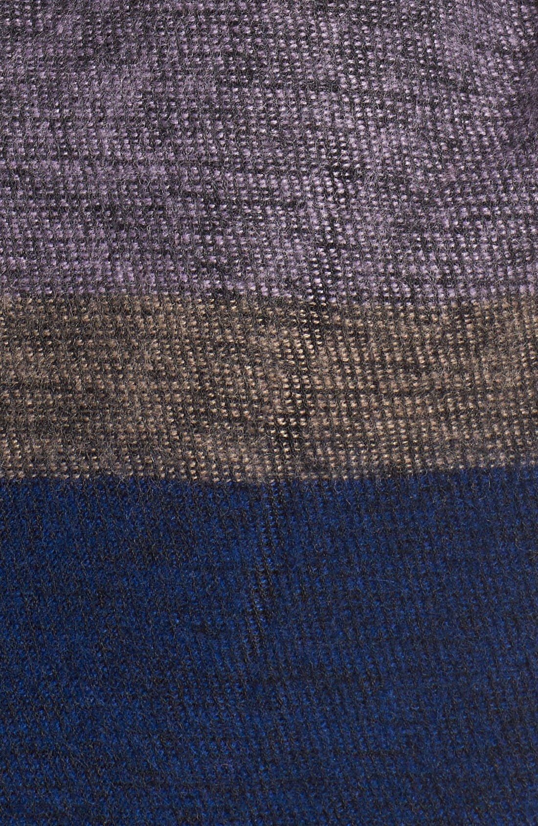 Alternate Image 3  - Echo 'Meadow Stripe' Wrap Scarf