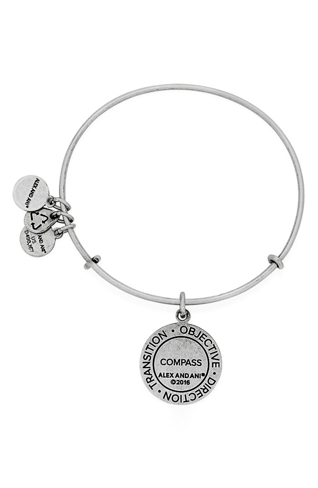Alternate Image 4  - Alex and Ani 'Compass' Adjustable Wire Bangle