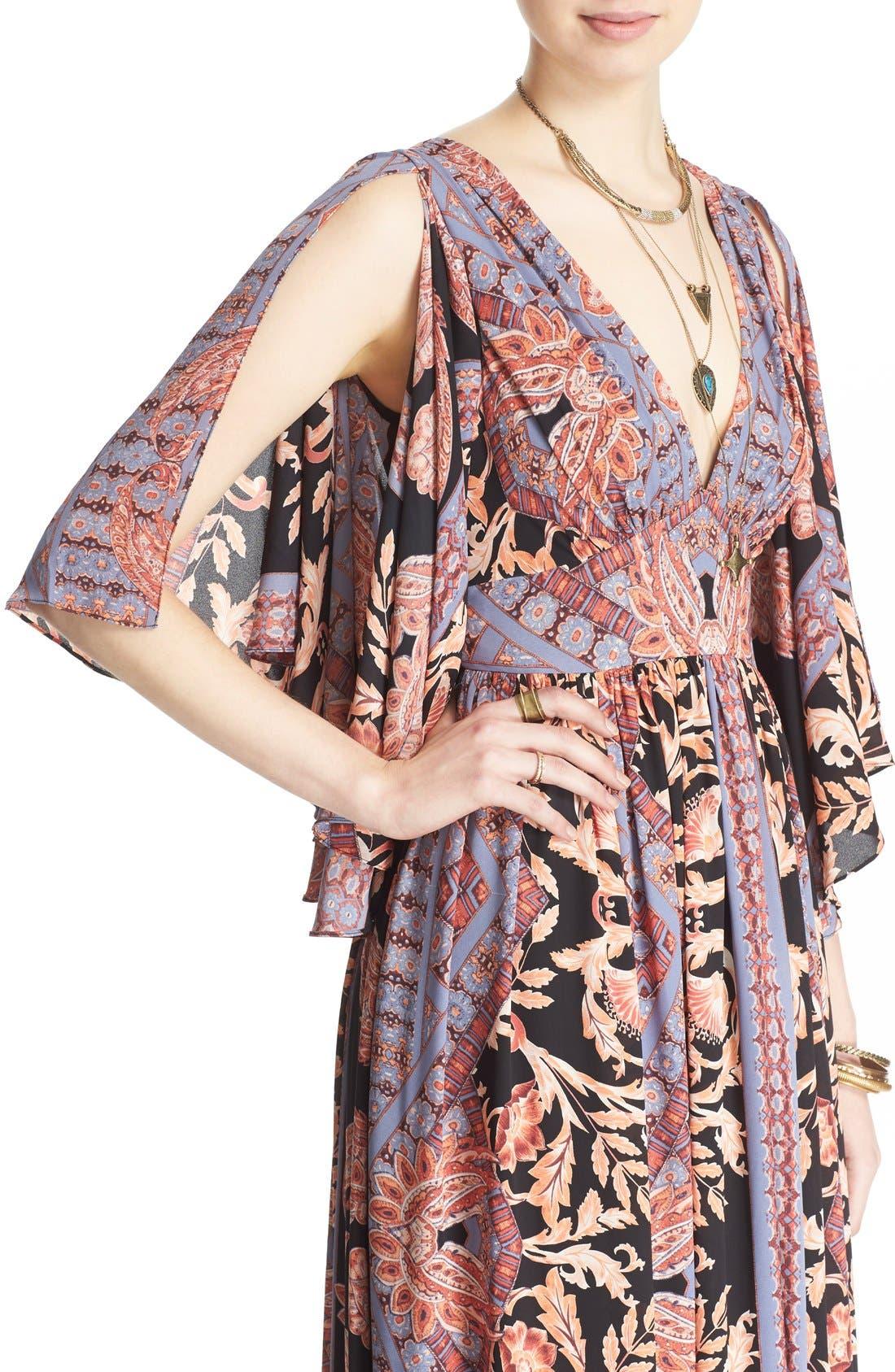 Alternate Image 4  - Free People 'Fern' Print Maxi Dress
