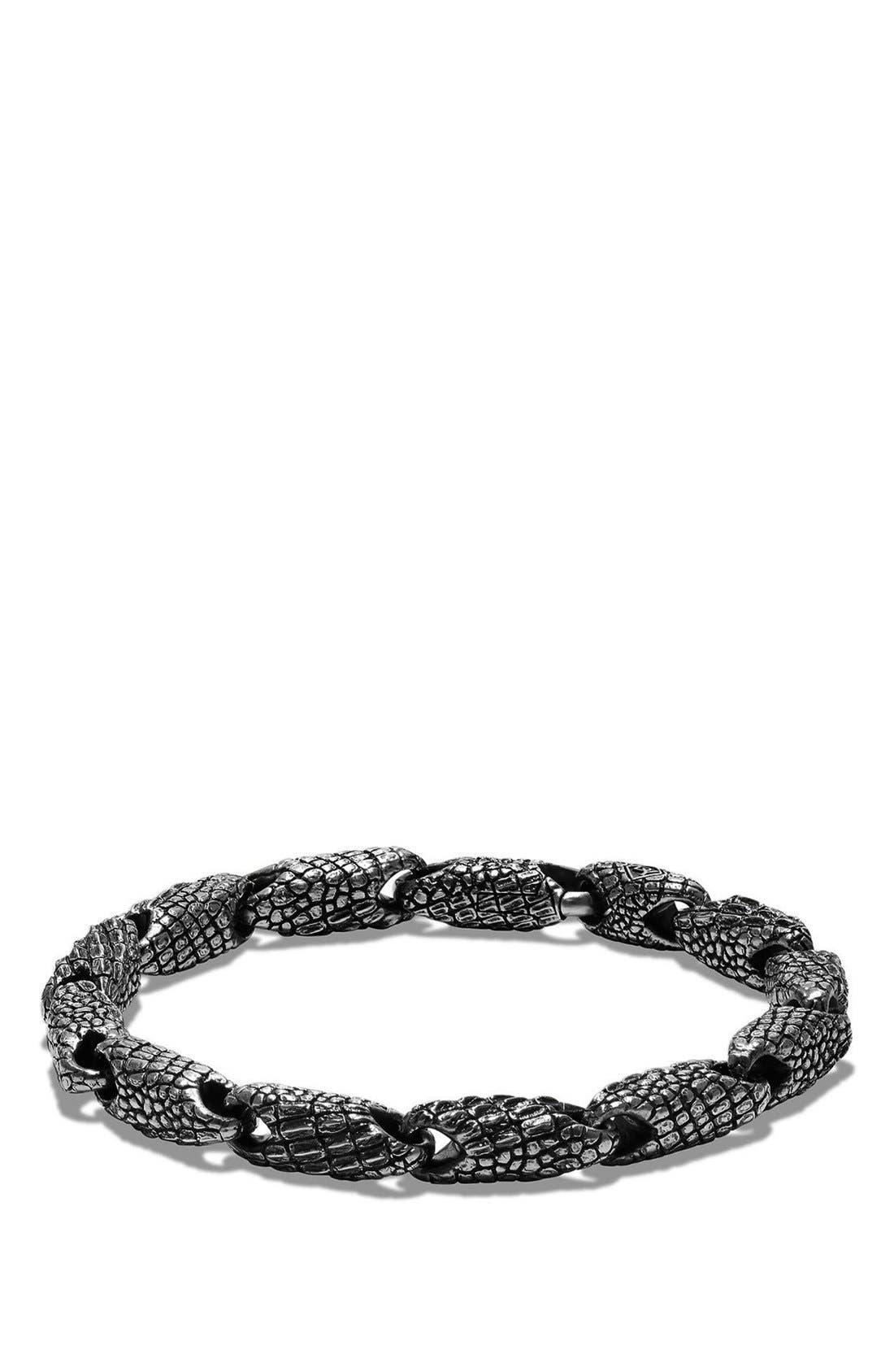 David Yurman 'Naturals' Gator Link Bracelet