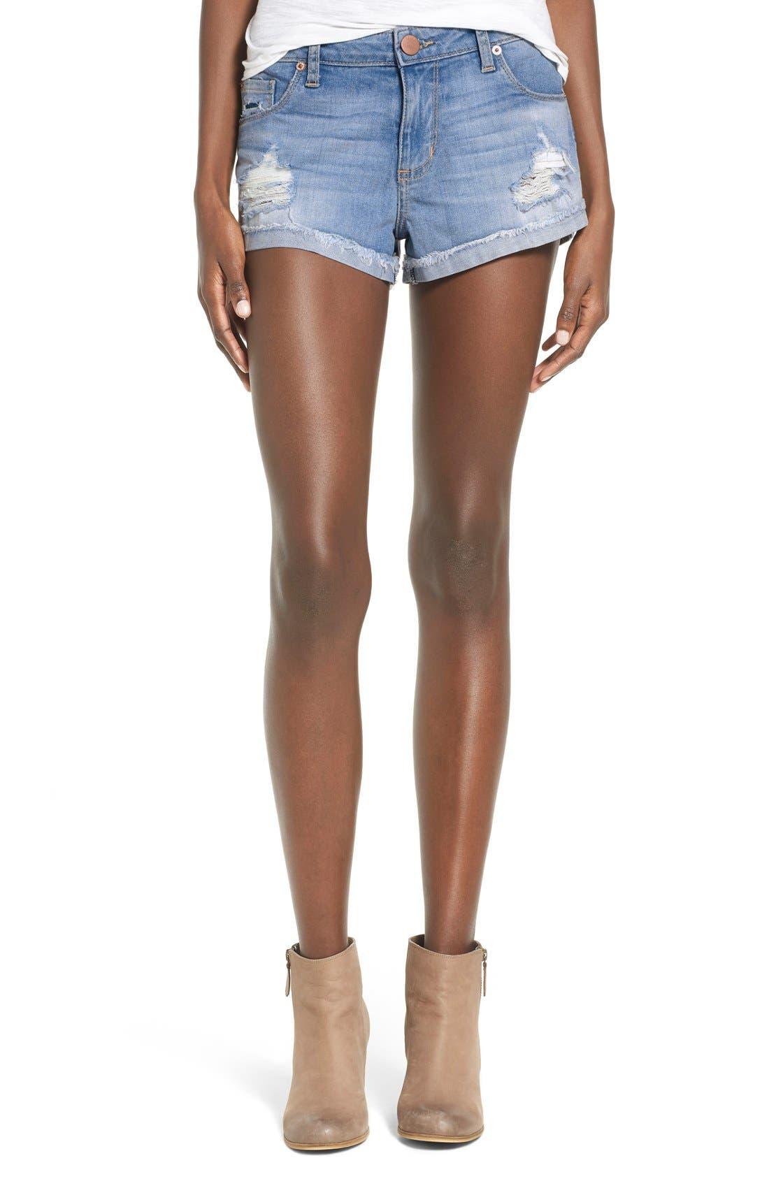 Alternate Image 1 Selected - STS Blue Boyfriend Shorts
