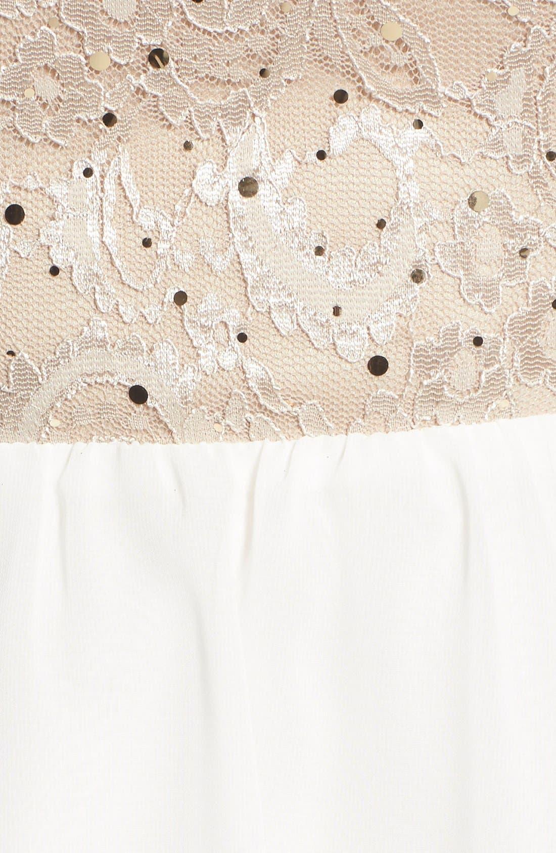 Alternate Image 5  - Dear Moon Sequin Bodice Skater Dress