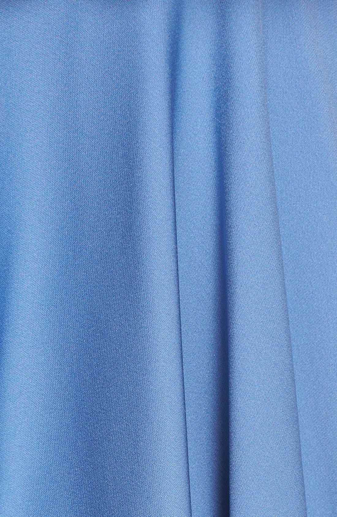 Alternate Image 5  - Milly 'Emmaline' Ruffle Stretch Silk Dress