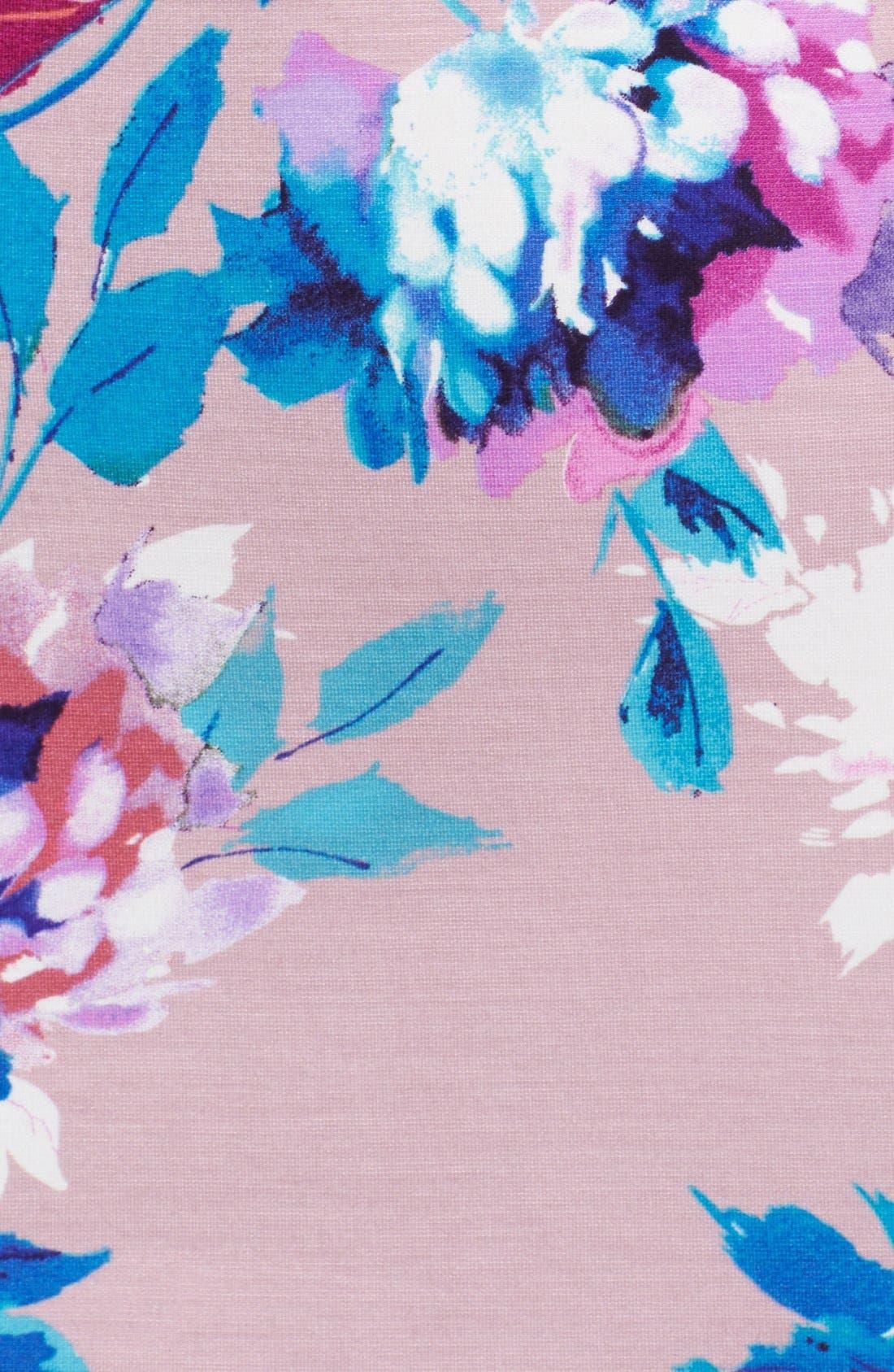 Alternate Image 6  - Felicity & Coco Floral Ponte Sheath Dress (Regular & Petite) (Nordstrom Exclusive)