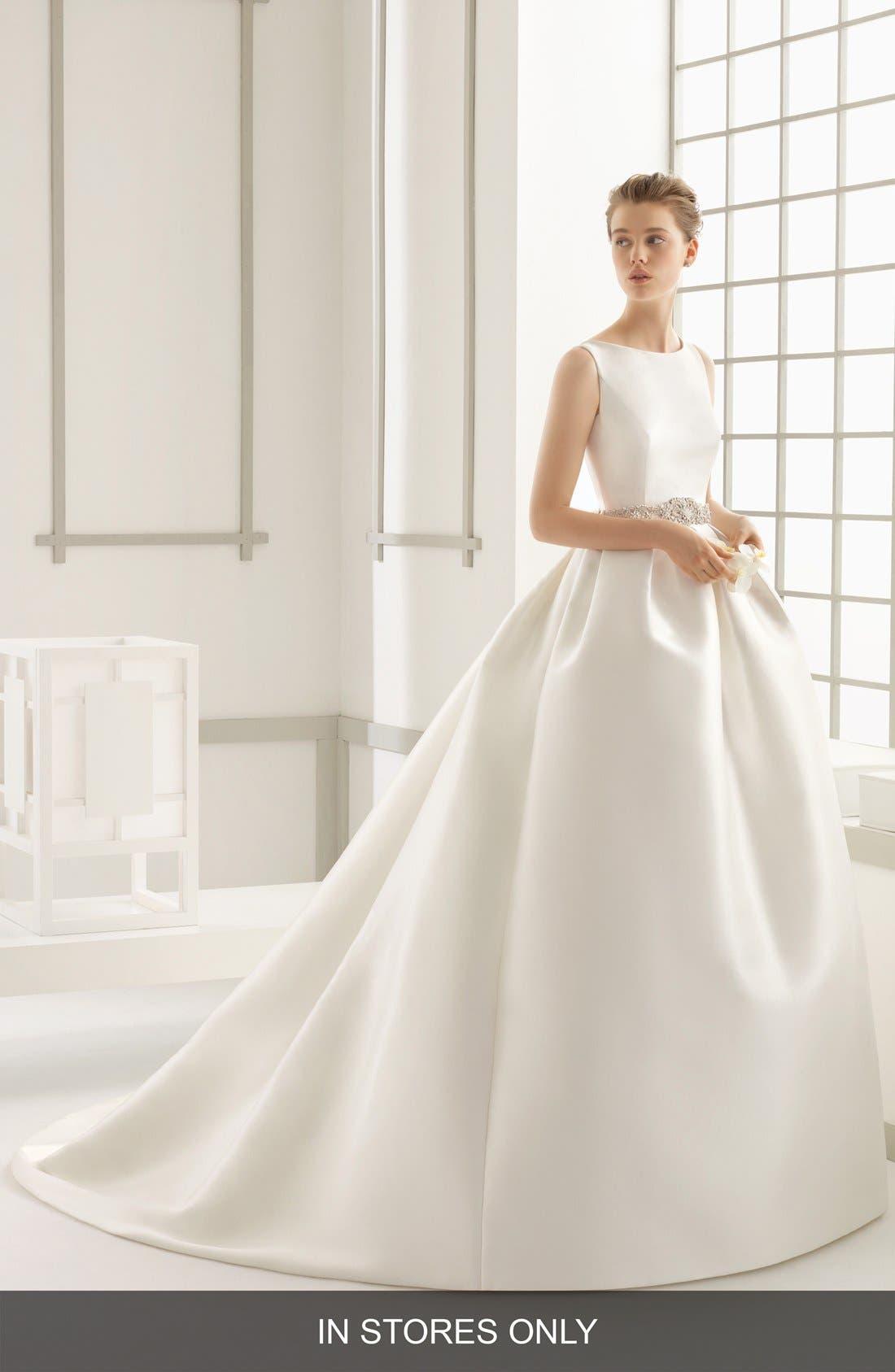 ROSA CLARA 'Delfos' Beaded Back Ballgown Dress