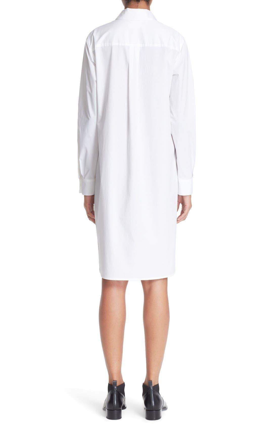 Alternate Image 3  - DKNY Long Sleeve Shirtdress