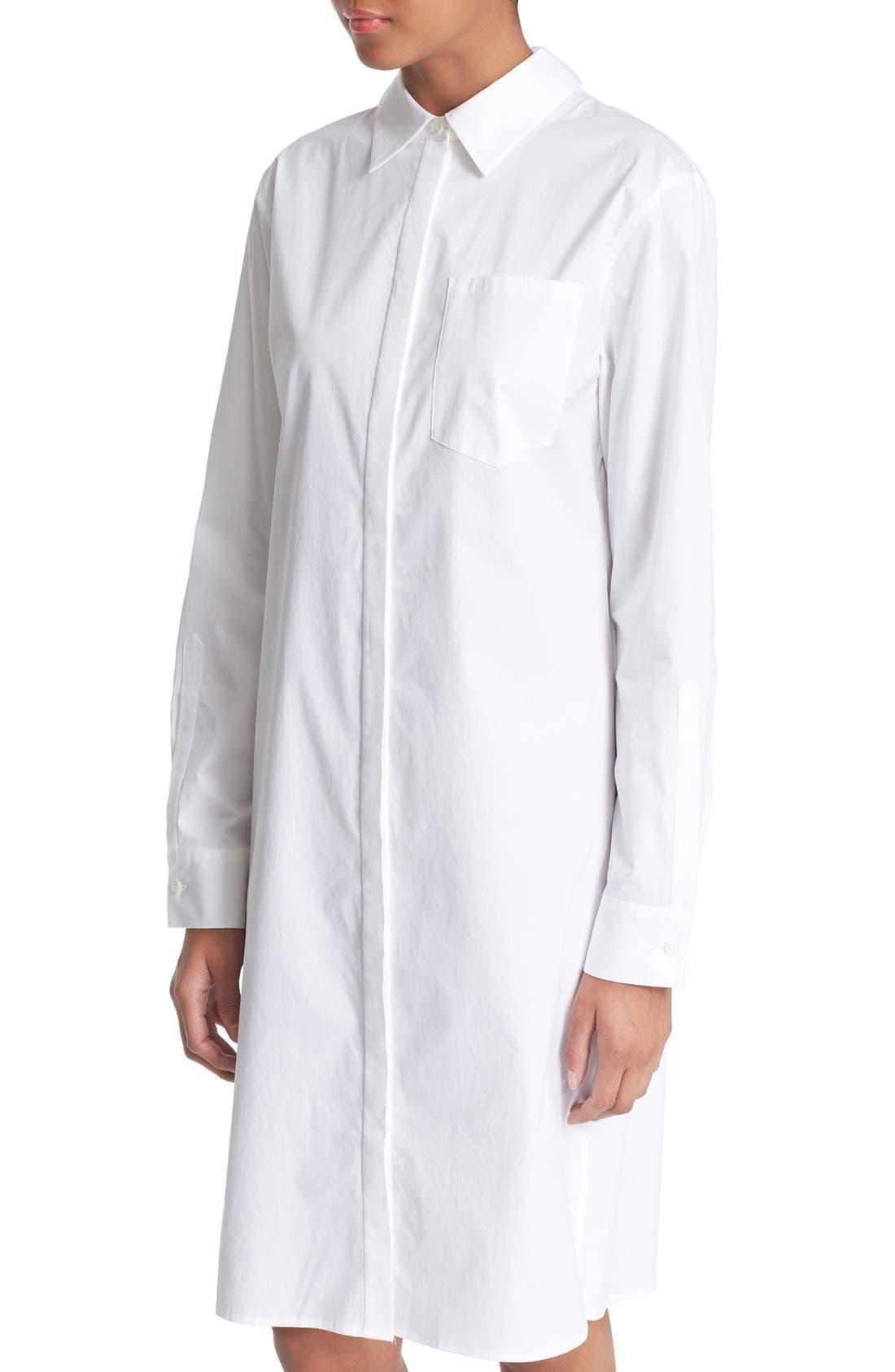 Alternate Image 5  - DKNY Long Sleeve Shirtdress