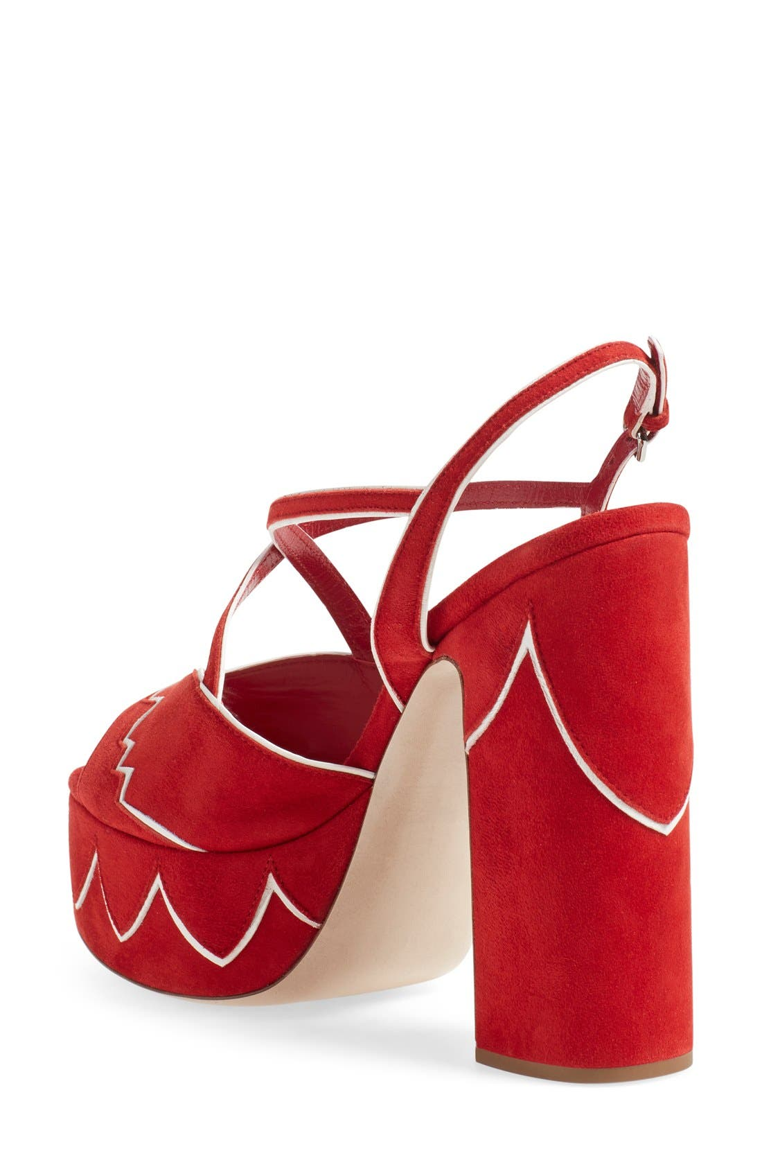 Alternate Image 2  - Miu Miu Platform Sandal (Women)
