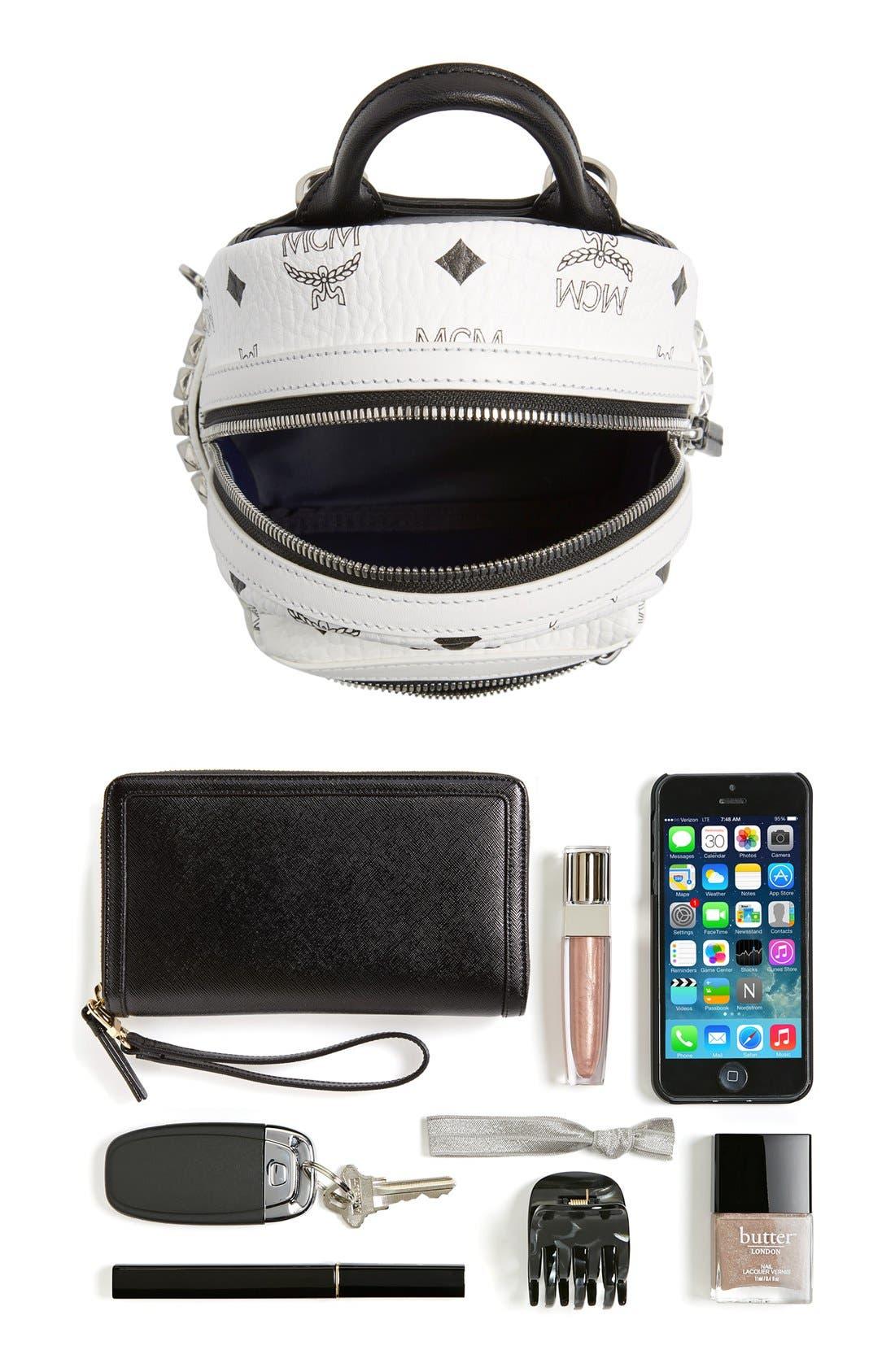 Alternate Image 7  - MCM 'X-Mini Stark Side Stud' Convertible Backpack