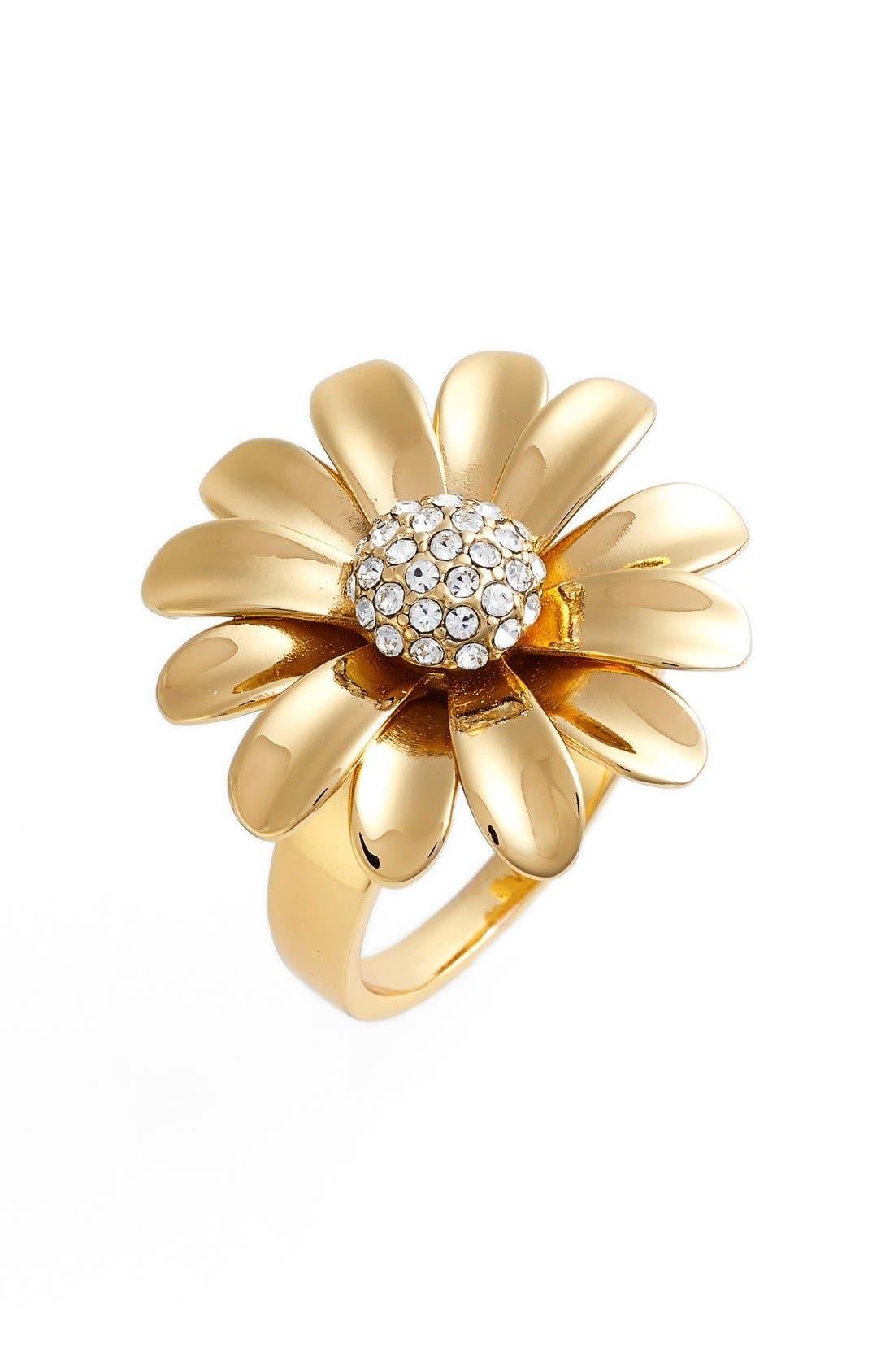 Main Image - kate spade new york 'dazzling daisies' statement ring